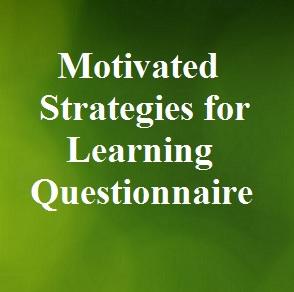 پرسشنامه راهبردهای خودانگیخته برای یادگیری